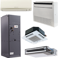 Mitsubishi Ductless Indoor Units