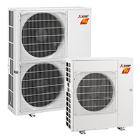 mitsubishi outdoor units