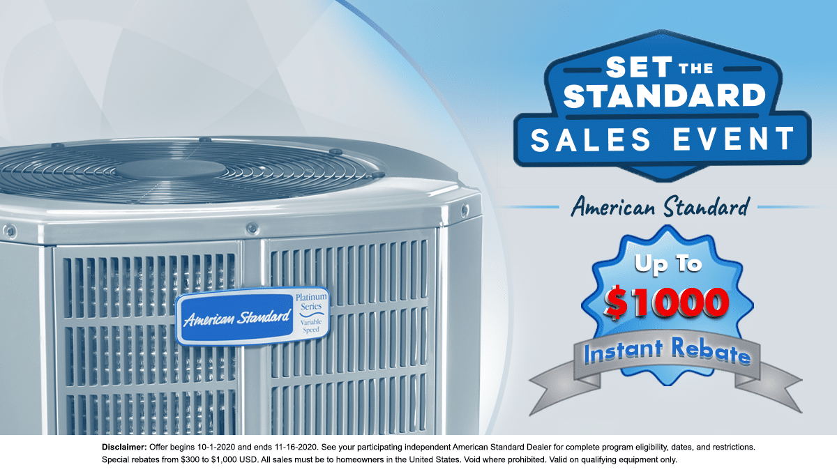 HVAC Rebate Offer
