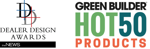 Dealer design awards and green builder hot50 products